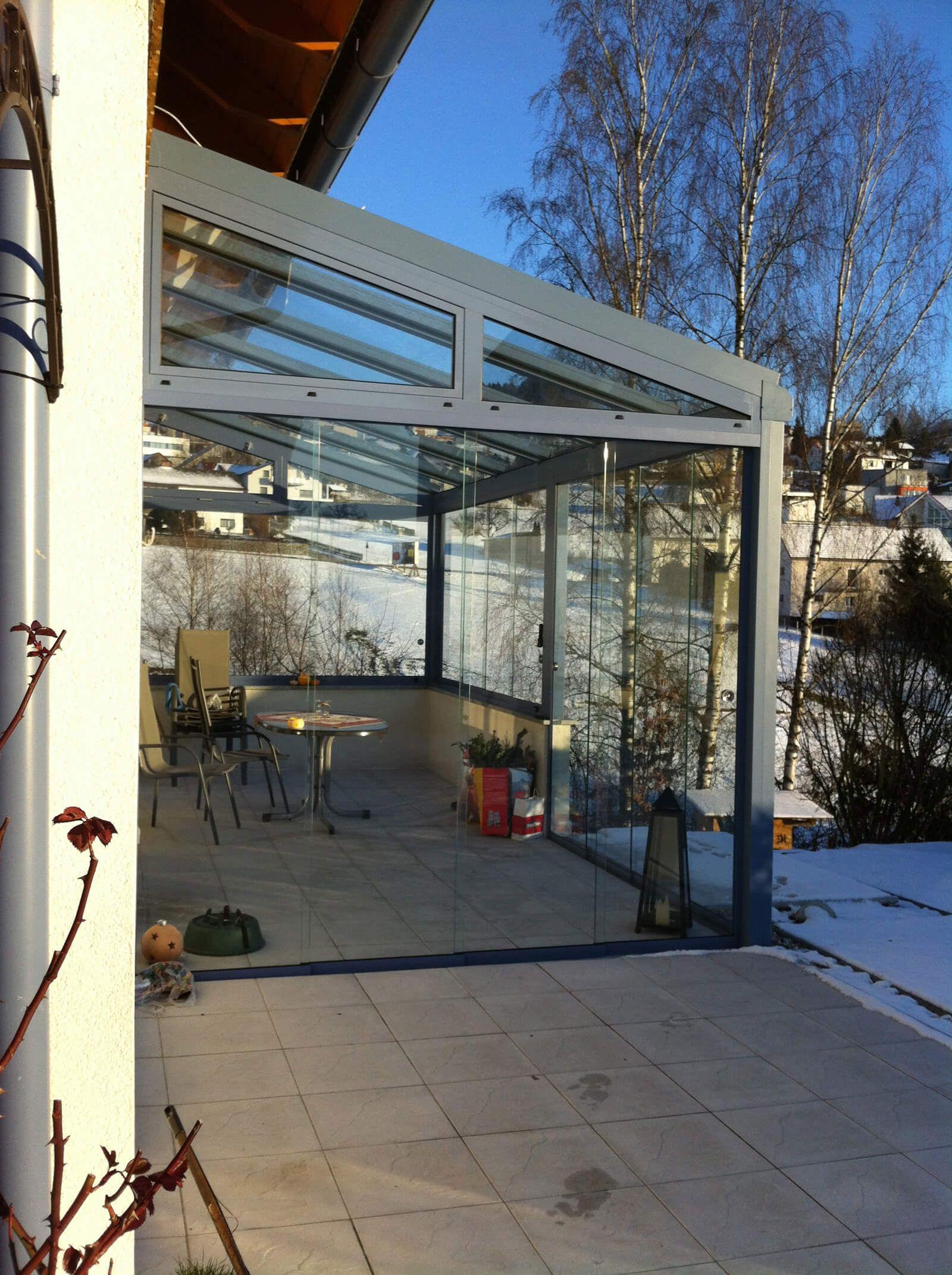 Moderne Terrassenuberdachung In Aluminium Terrassenuberdachung Sommergarten Glasschiebeturen Sunflex S Sommergarten Kaltwintergarten Uberdachung Terrasse