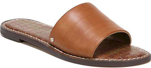 029d7873c82 Sam Edelman Gio Slide Sandal in Brown. A wide strap defines a minimalist slide  sandal fit for any occasion..  shoes  fashion  style  stylish  trendy