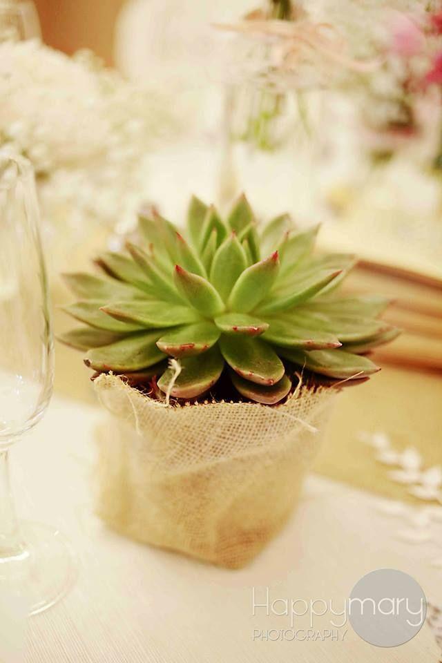 Notre mariage: la décoration de table –