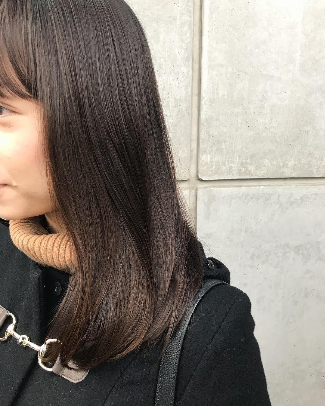 枝毛カットとトリートメント Nishiyama Akihiro Hair Styles