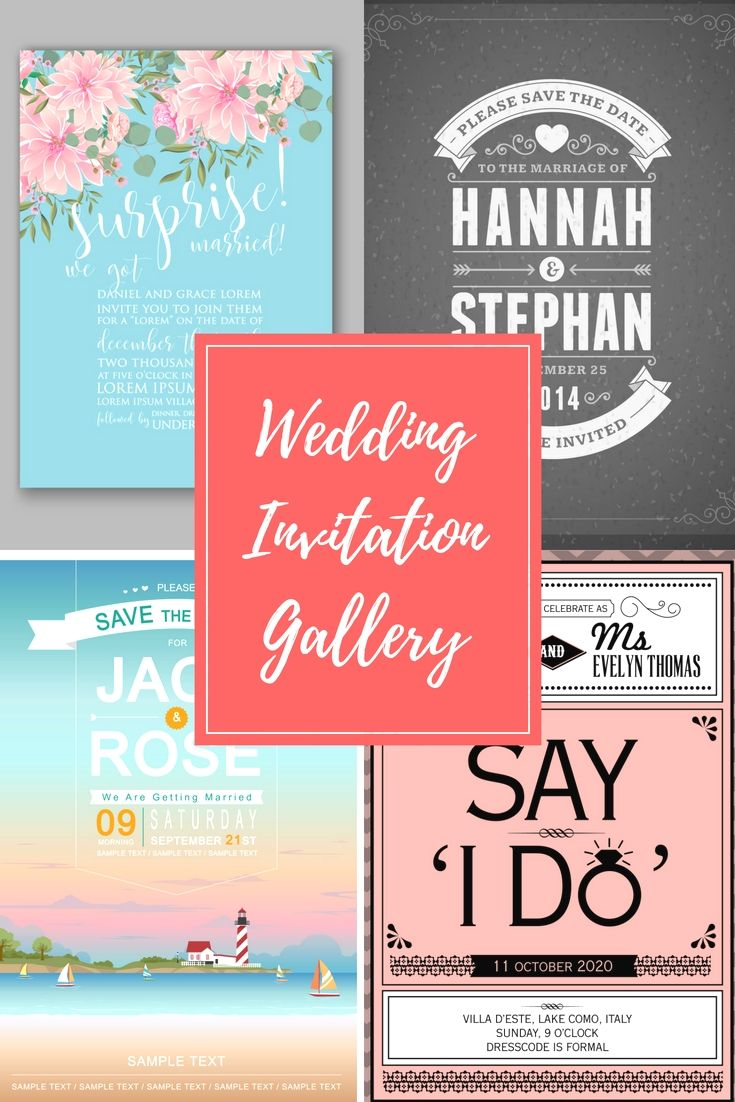 29 Fully Special, Trendy And Most Economical Wedding Invitation ...