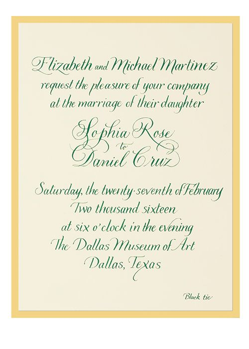How to Word Your Wedding Invitation Weddings - free word invitation templates