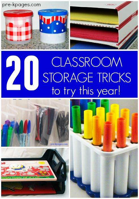Delicieux 20 Classroom Storage Tricks For Preschool And Kindergarten