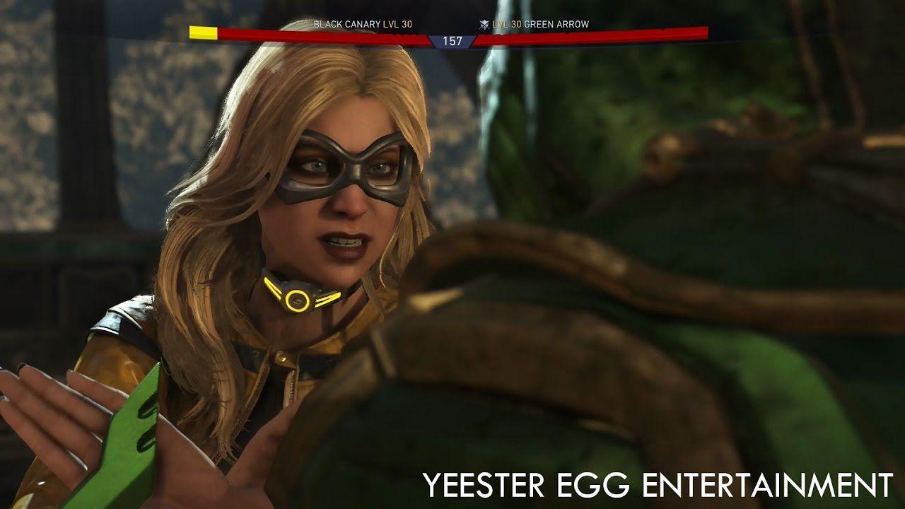 Injustice 2 Black Canary Legendary Gear Dinah Drake S Golden Age Nec Injustice 2 Black Canary Dinah Drake Black Canary