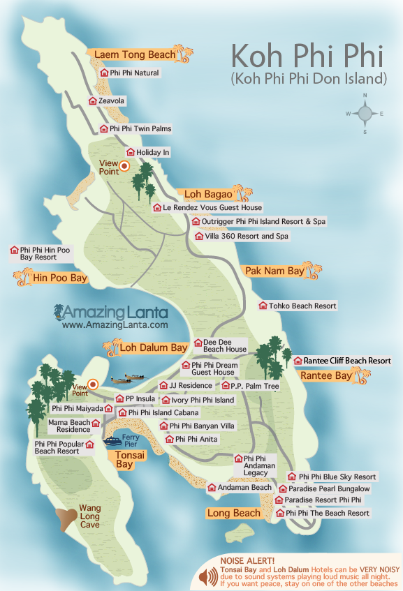 How To Get From Koh Phi Phi To Koh Tao
