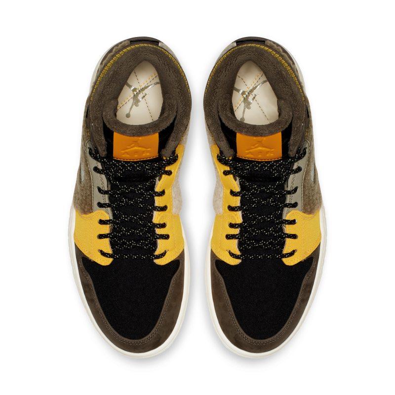 d7efe2e9ebb Air Jordan 1 Retro High Premium Utility Women s Shoe - Cream ...