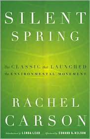 """One of the first publications to the public about the """"environmentalist movement"""". Fantastic read that explains the science, the culture, and why the environment is worth saving. Very good read, not boring or politically oriented. Just someone who loves this earth."""
