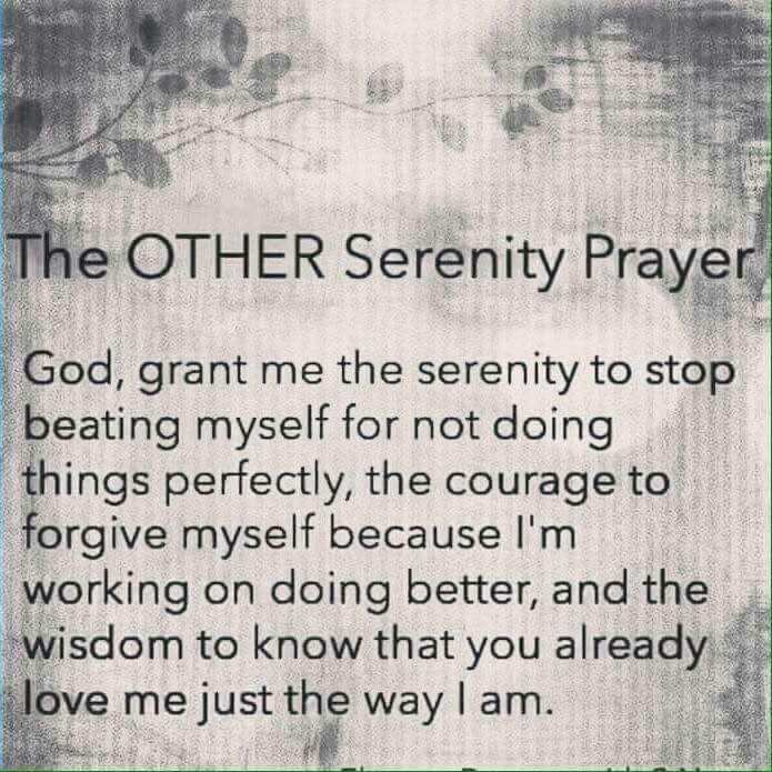 The Other Serenity Prayer Guidance Pinterest Serenity