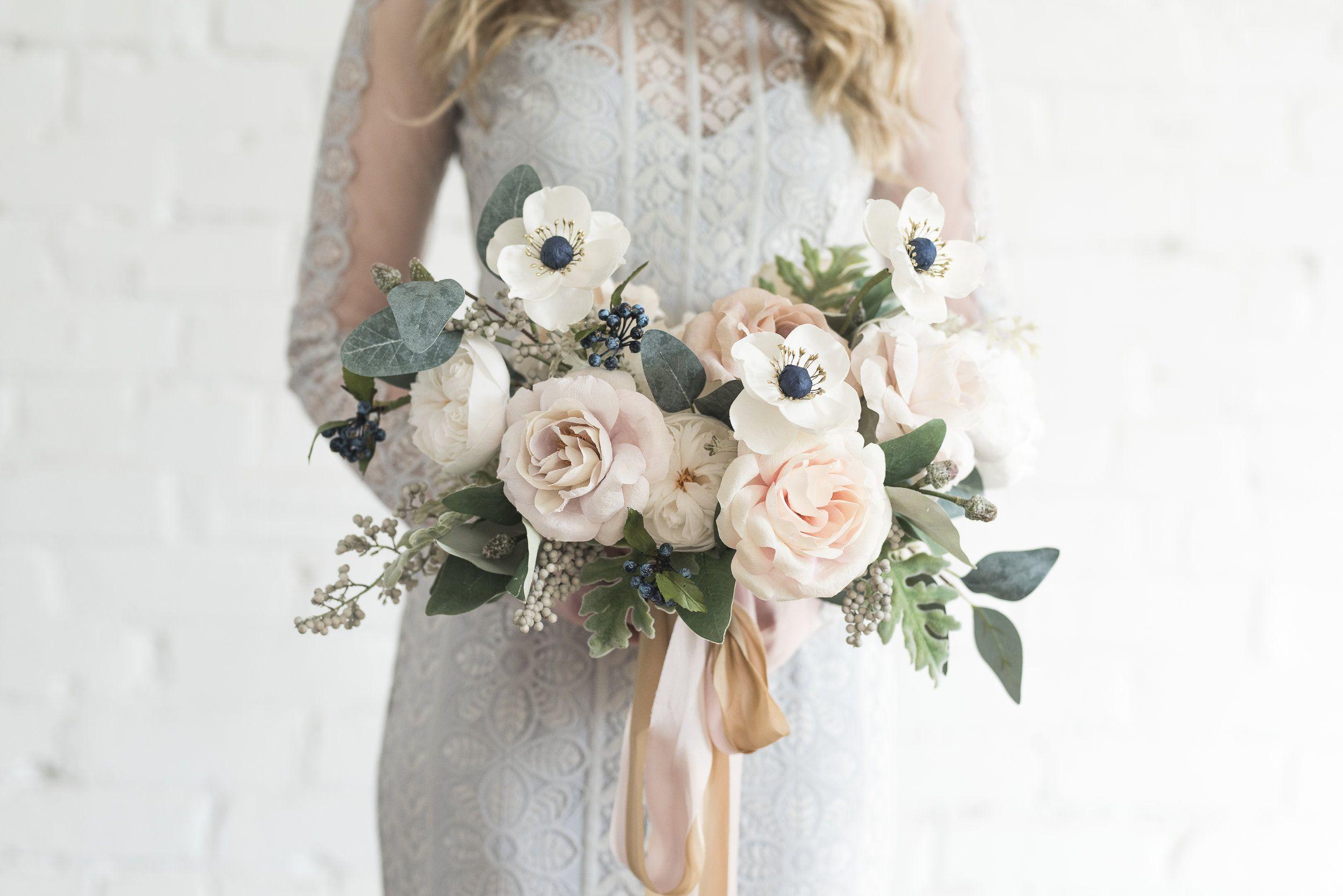 paper wedding bouquet - GENIUS