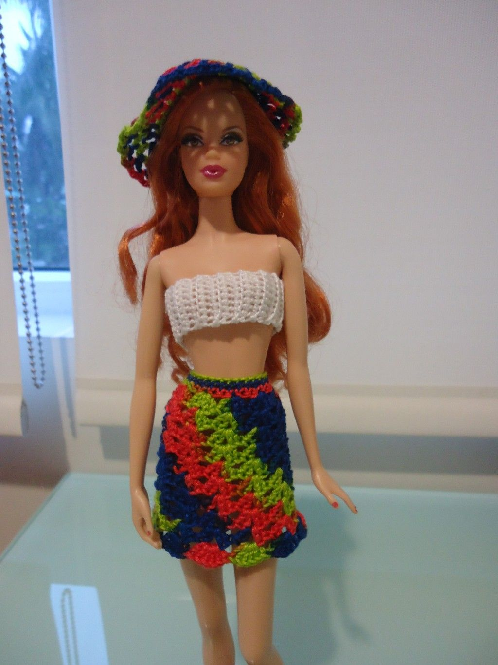 Barbie shell stitched skirt and cropped top free crochet pattern barbie shell stitched skirt and cropped top free crochet pattern crochet doll clothescrochet bankloansurffo Choice Image