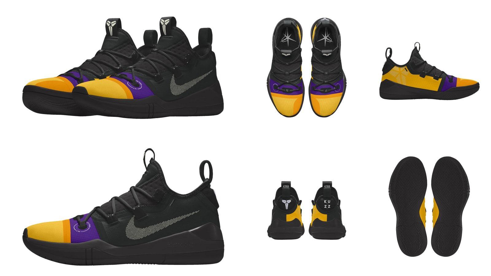 49c2f47f955b Nike Kobe A.D.  Kuzz Control  - Nike Let Players Design Sneakers for NBA s  2018-19 Opening Week