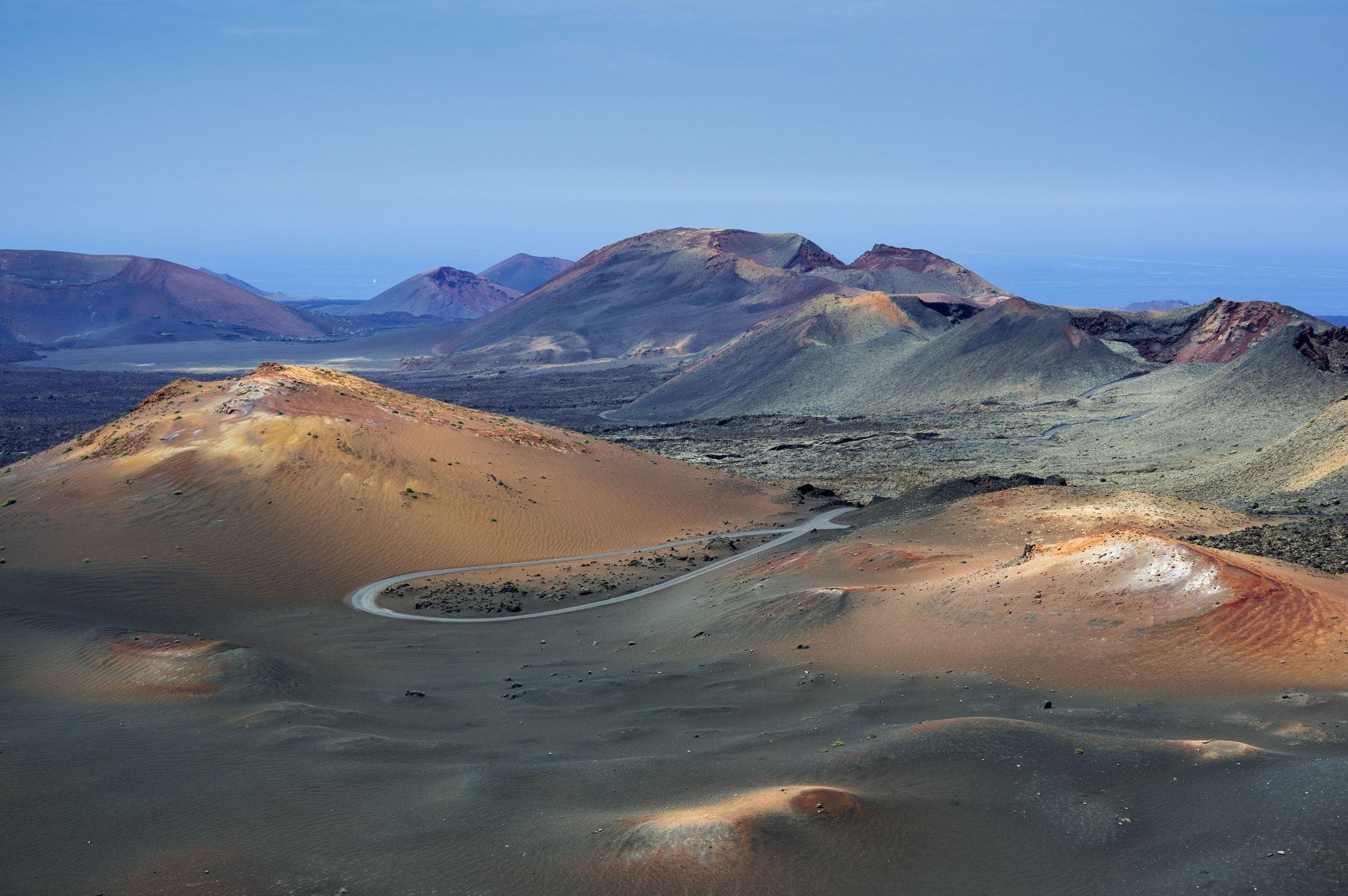 Parc National De Timanfaya Lanzarote Une île