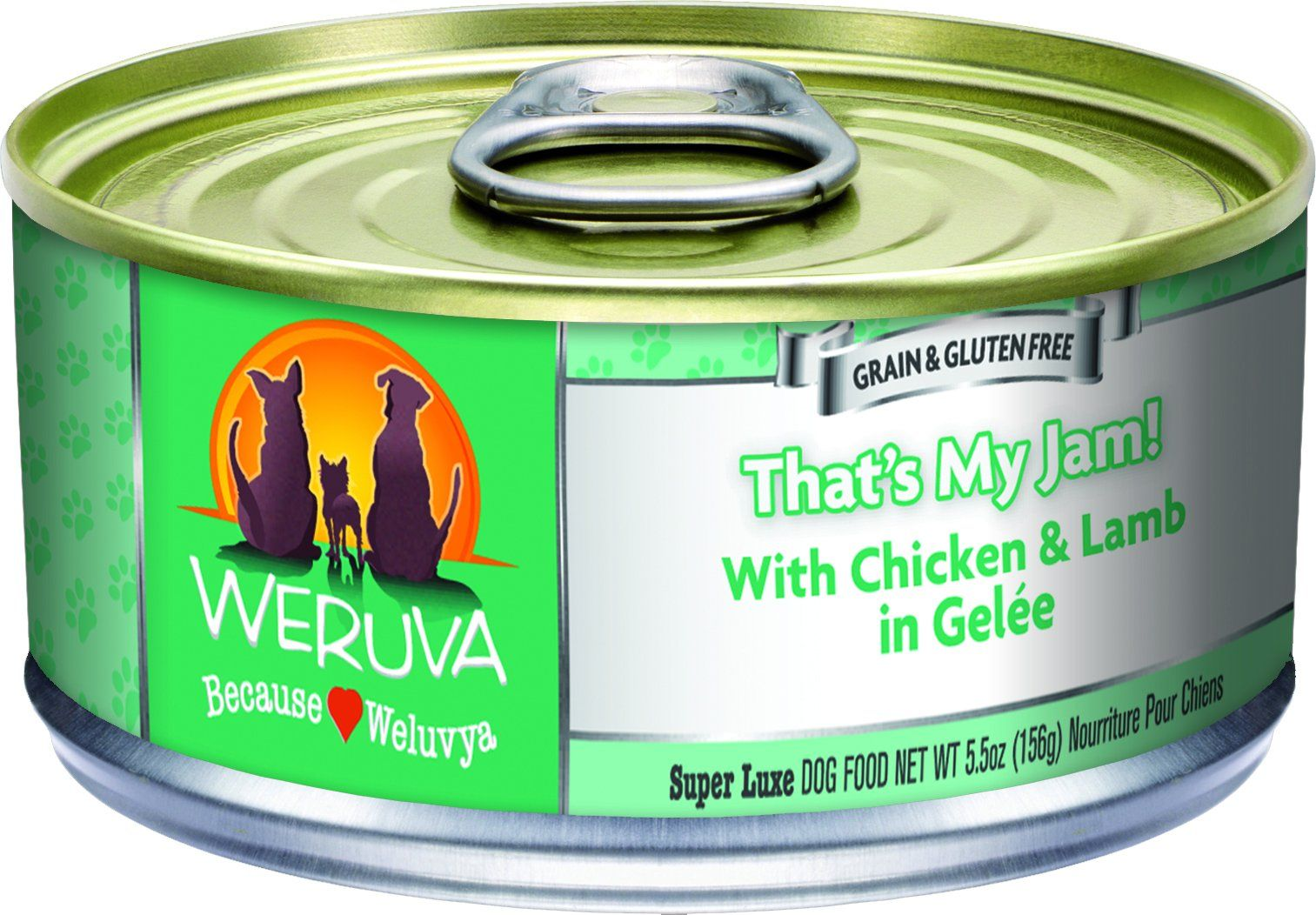 Weruva 878408004490 Thats My Jam Dog Food 24 Pack 5.5 oz