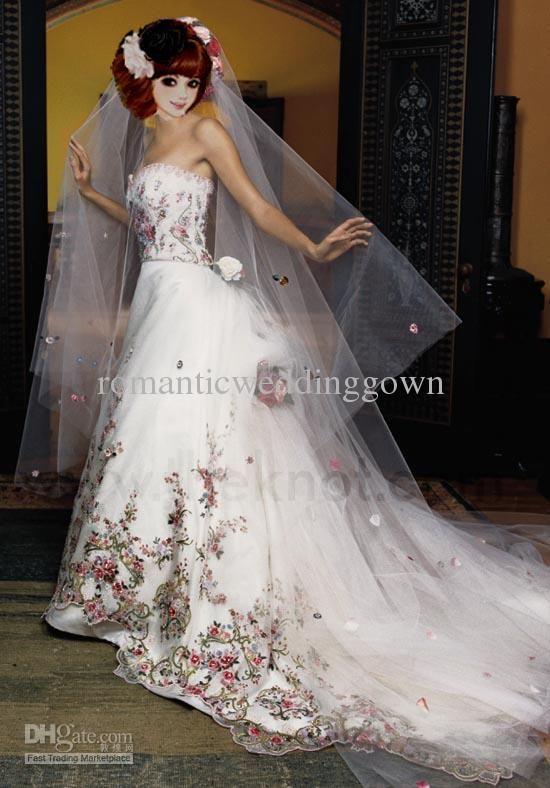 Keptalalat A Kovetkezore Color Wedding Gowns