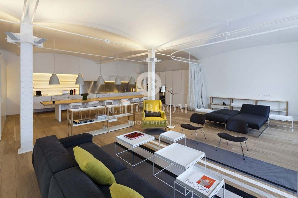 If You Are Looking For A Large Barcelona Furnished Apartment Rental That  Has Ample Space In Which To Both Work And Play, Bac De Roda Loft I Is  Absolutely ...