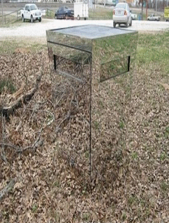 Free homemade deer blind plans ideas photos 2 outdoors for Tree stand blind ideas