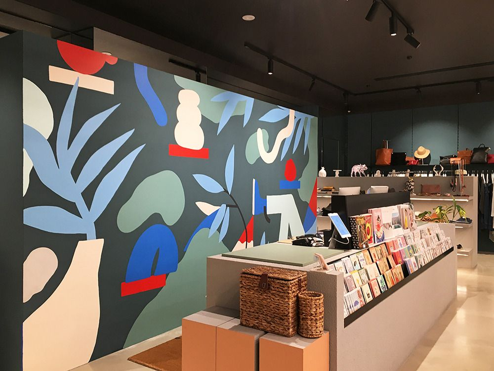 Melbourne Recent murals commissioned by Pigeonhole store