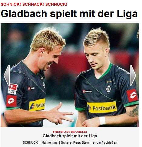 Schnick Schnack Schnuck Vfl Borussia Monchengladbach Vfl Borussia Borussia Monchengladbach