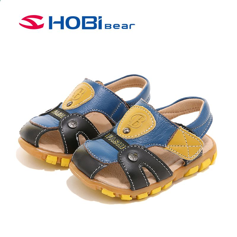 53b7f56333fcd ... Children s Shoes by Liberty Morton. HOBIBEAR Brand Designed Fisherman Boys  Sandals Leather Kids Boy Sandals Baby Infant Toddler Sandals Closed Toe