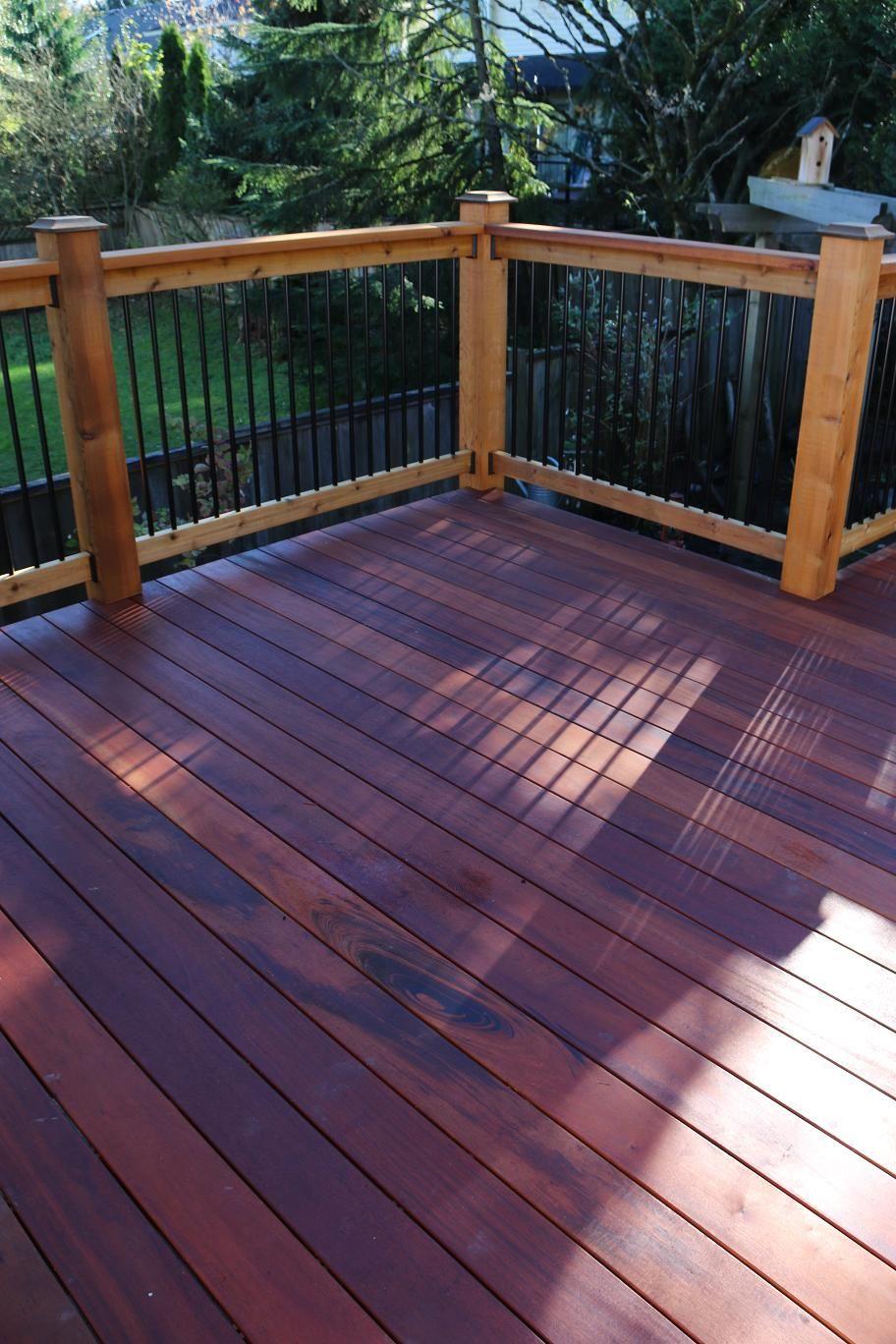 Residential Tigerdeck Tigerwood Hardwood Deck supplied by