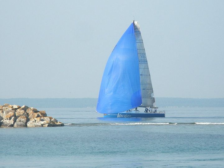 It would be nice to go Sailing around on Lake Huron while staying on the island.
