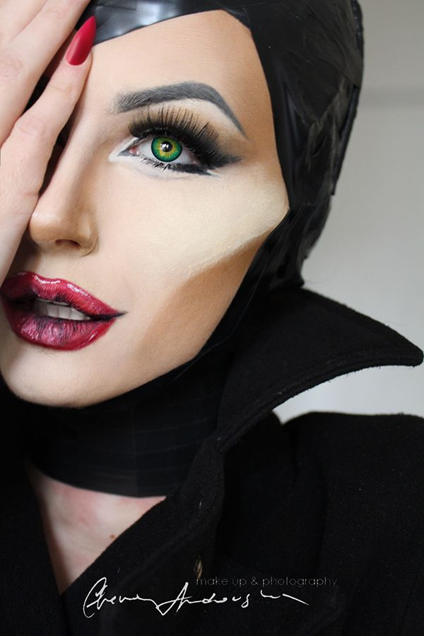 MALEFICENT MAKE UP TRANSFORMATION on Behance | Fashion