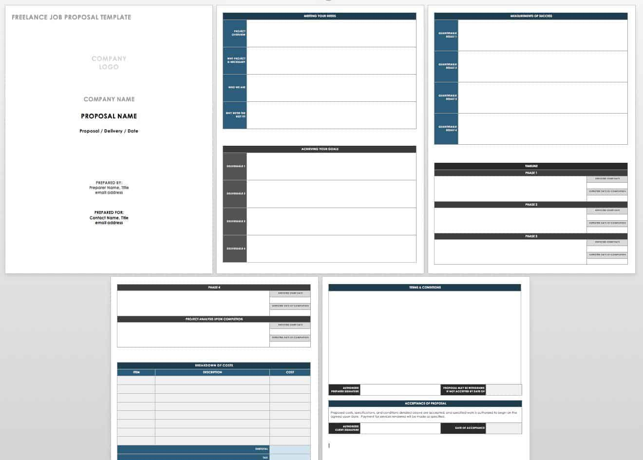 17 Free Project Proposal Templates Tips In