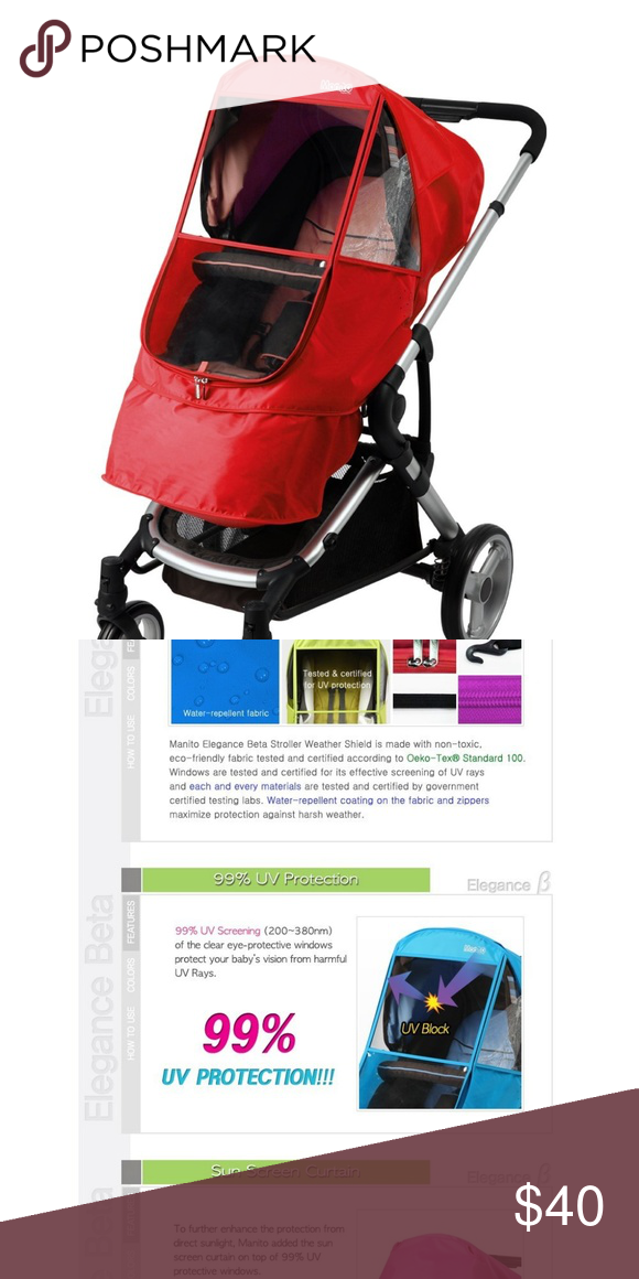 Manito Elegance Beta Stroller Weather Shield Baby jogger