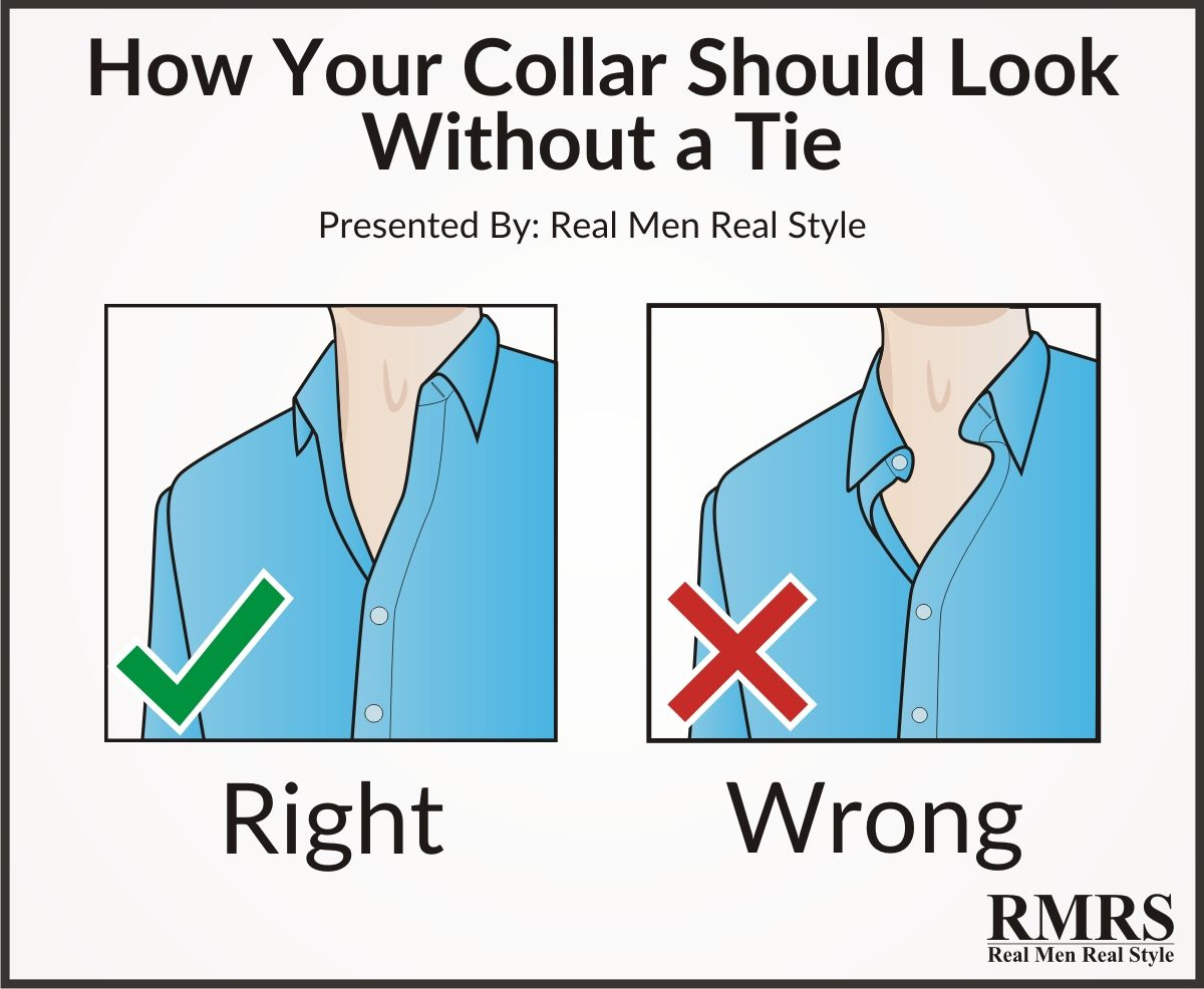 Man 39 S Guide To The Shirt Collar Infographic Shirt