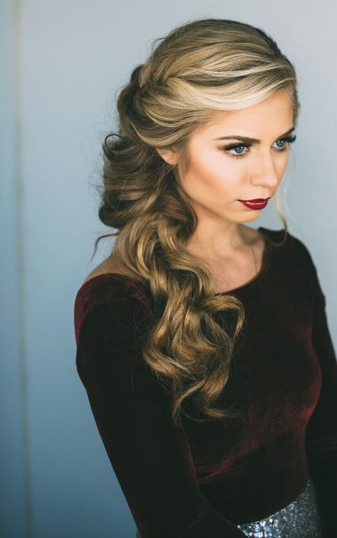 6 Easy + Perfect Valentine\'s Day Hairstyles | 40s hairstyles ...