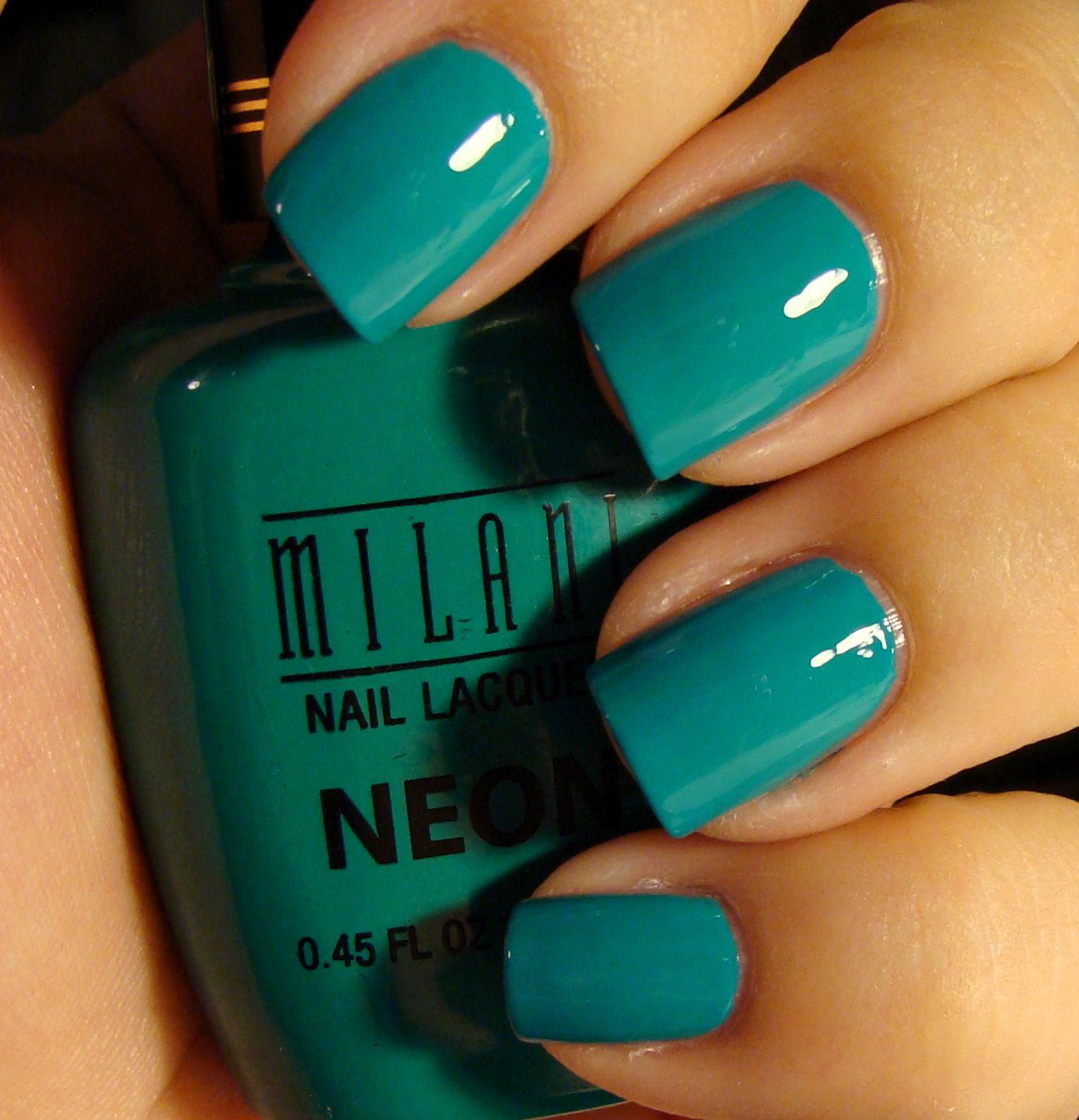 Milani | Beautopia Nails | Nails | Pinterest | Milani and Neon nails