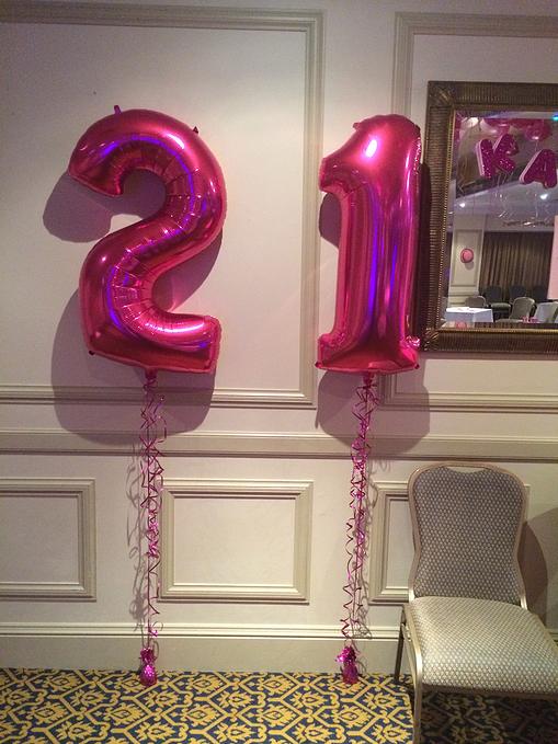 Mega Foil Balloons Decorations For Birthday Party Balloonart