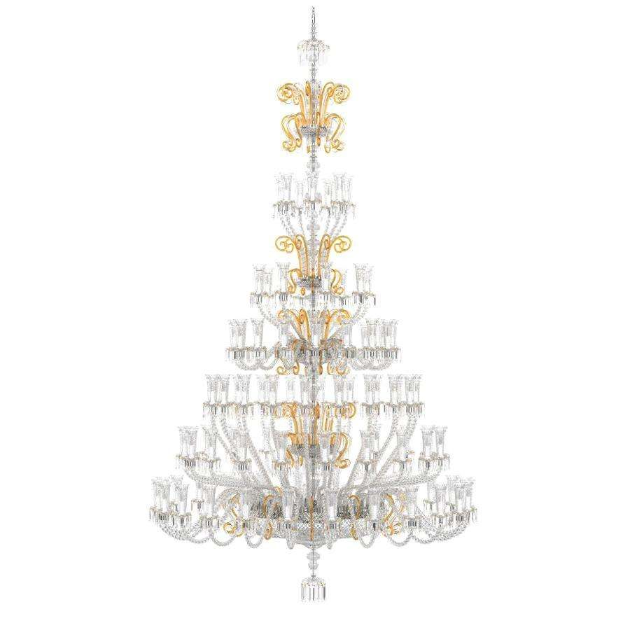 Trevi Classical Handmade Bohemian Crystal Chandelier I For Sale