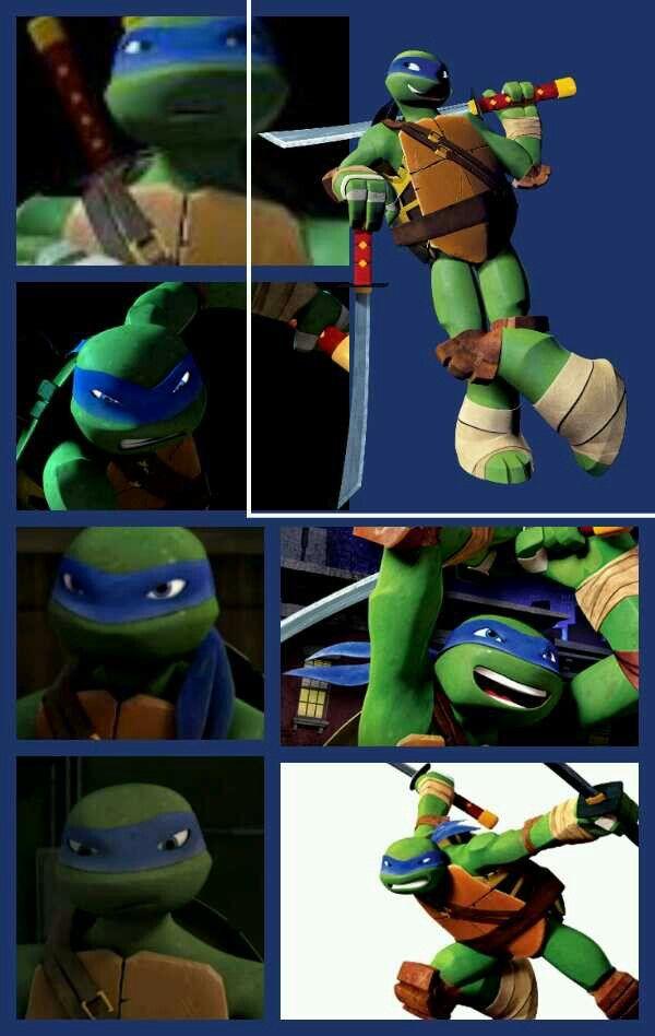 Love The Cute Faces Leo Has Tmnt Leonardo Ninja Turtle