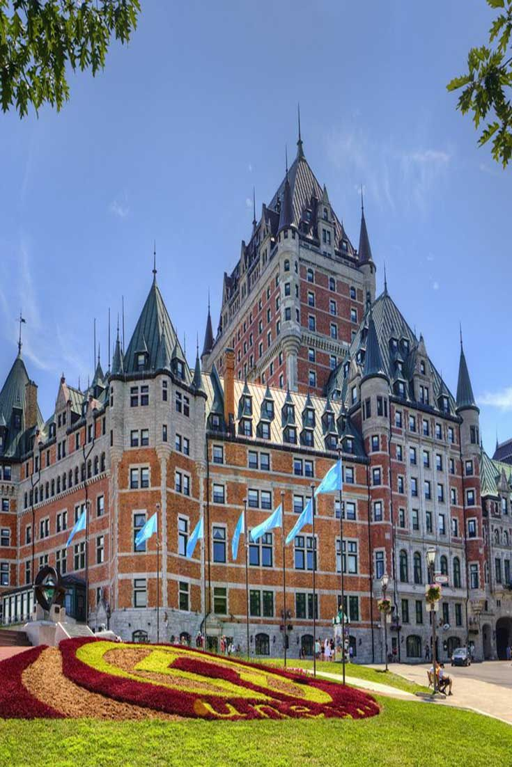 Fairmont Le Chateau Frontenac A Luxury Hotel In Old Quebec Frontenac Hotel Quebec City Stunning Hotels