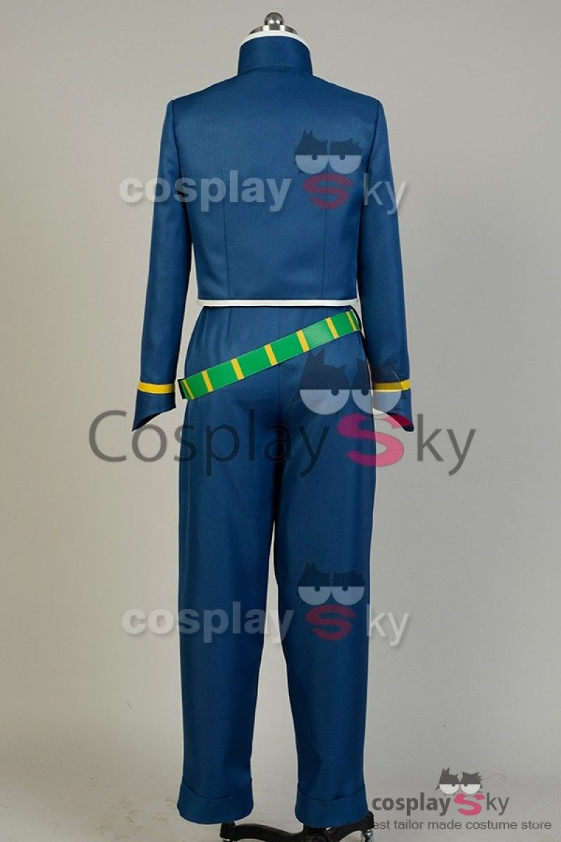 Jojo S Bizarre Adventure Okuyasu Nijimura Cosplay Costume Made In