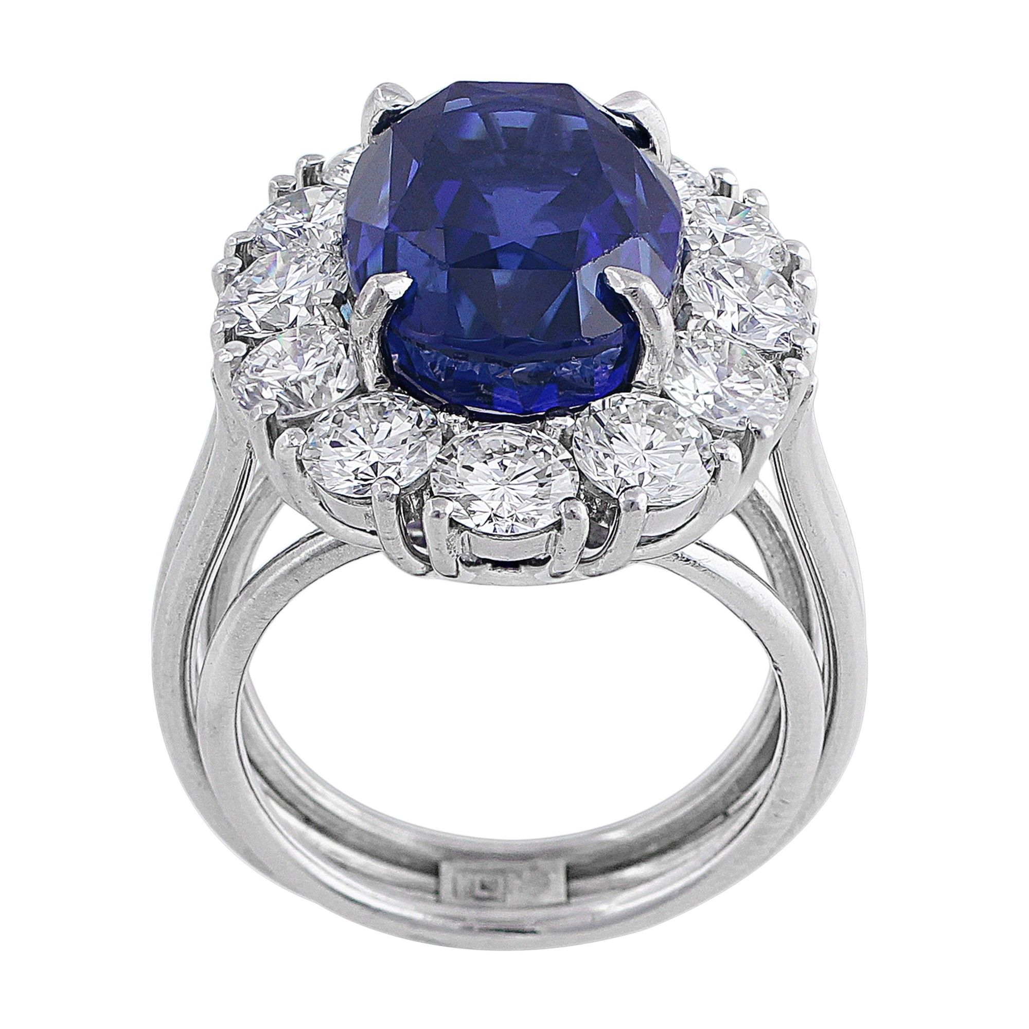 ring rings diamond product antique cluster cut sapphire old victorian unheated