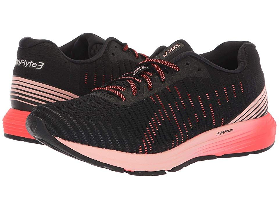 ASICS Dynaflyte 3 Women's Running Shoes BlackFlash Coral
