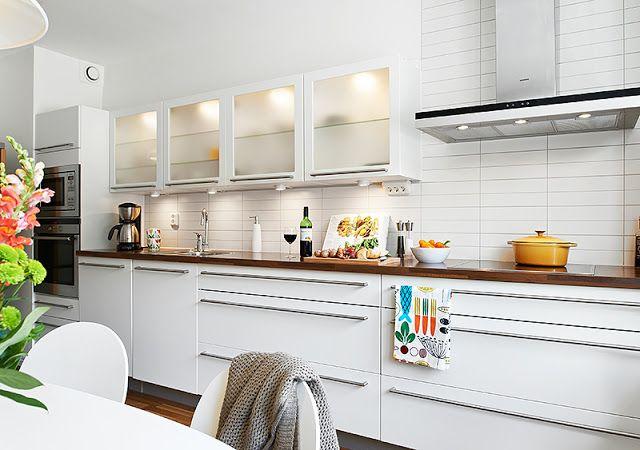 Horizontal Cabinets One Wall Kitchen Kitchen Cabinets Trendy Kitchen
