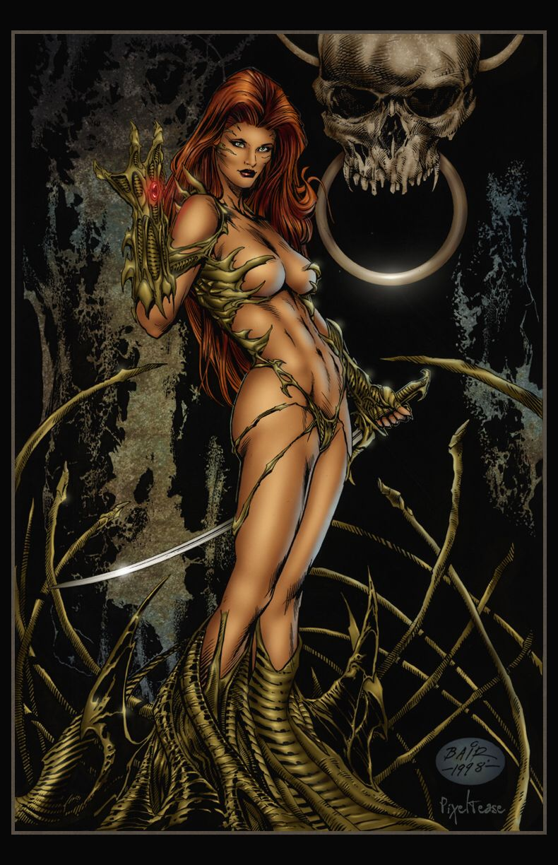 WitchBlade__by Pixeltease by MichaelBair on @DeviantArt