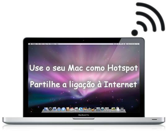 Use o seu Mac como Hotspot – Partilhe a ligação à Internet