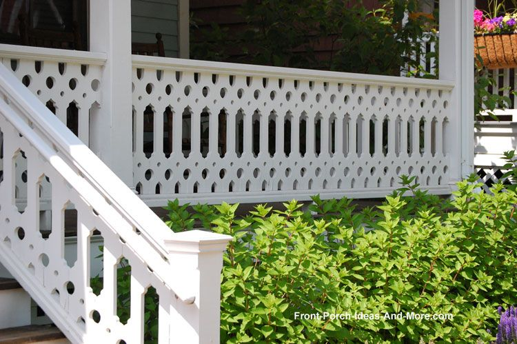 Best Sawn Balusters Victorian Porch Porch Balusters Front 400 x 300