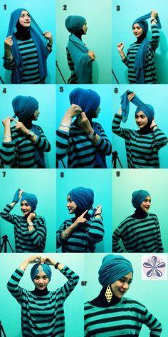 Tutorial Hijab Turban Modern Google Search Turban Hijab Hijab Style Tutorial Hijab Tutorial