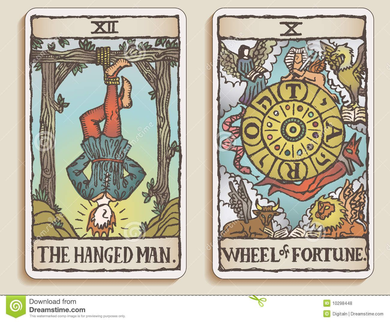 A history of seeing the future tarot cards in early