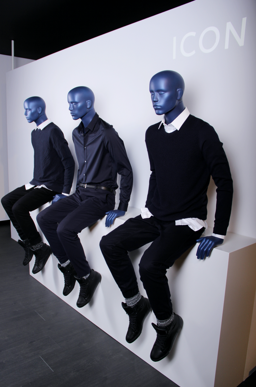 ICON Collection Men GENESIS MANNEQUINS ICON are