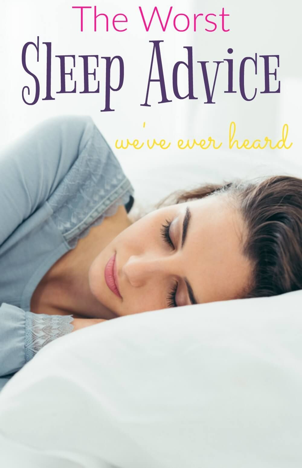 How to Get the Worst Nights Sleep of Your Life recommend