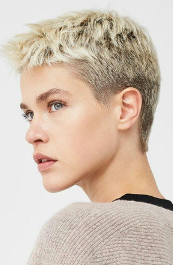 Coole frisuren kurze haare frau