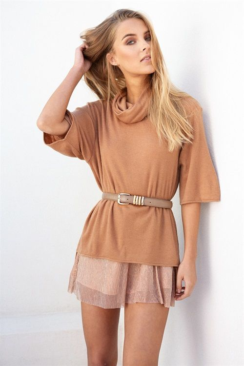 Dylan Turtleneck - Knitwear by Sabo Skirt | SABO SKIRT