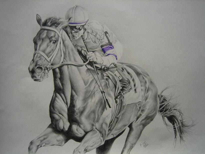 pencil drawings of horses pencil drawing race horse pencil drawings pinterest race. Black Bedroom Furniture Sets. Home Design Ideas