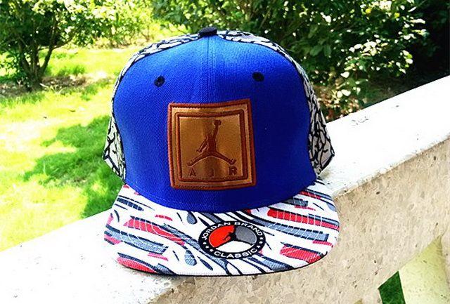 2014 Super Hot Jordan Bran Caps Latest Fashion Snapback Hats Blue 114
